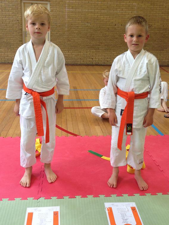Veel Geslaagden Tijdens De Judo Examens Bushido Heemskerk